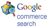 Логотип Google Commerce Search