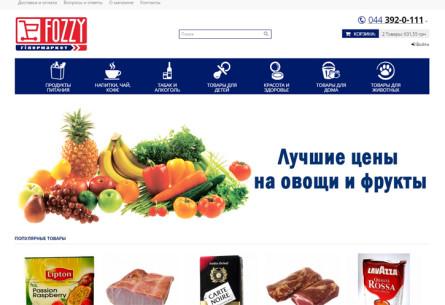 Сайт Fozzy